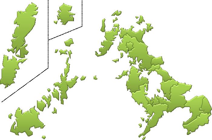 长崎県地図